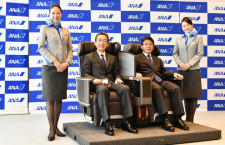 ANA、国内線777と787に新シート プレミアムクラス増席、普通席はトヨタ紡織製