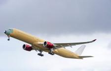 ヴァージン アトランティック航空のA350-1000、初飛行 今夏受領へ