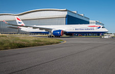 ブリティッシュエアのA350-1000、塗装完了 初号機7月受領へ