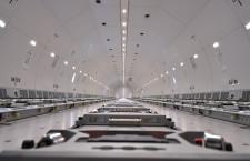 荷主席にコンセント完備の大型貨物機 写真特集・ANA 777Fお披露目(機内編)