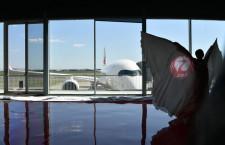 鶴イメージしたバレエでお披露目 特集・JAL A350初号機受領(デリバリー編)