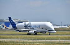 エアバス、ベルーガXL就航 新大型輸送機、A350主翼2つ運ぶ