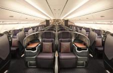 シンガポール航空のA380、新客室の初改修完了 14機対象