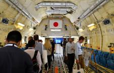 高さ4mの貨物室公開 写真特集・7割国産のC-2輸送機、パリ航空ショー初参加