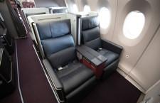 マッサージ機能付き電動シート 写真特集・JAL A350-900(ファーストクラス編)