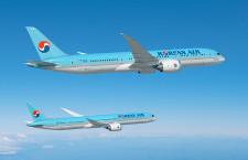 大韓航空、787-10を20機導入へ 787-9は10機