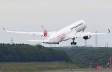 北九州と新千歳、成田初飛来 JALのA350が訓練飛行