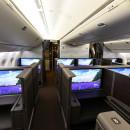 43インチ4Kモニターと引き戸付き個室ファーストクラス 写真特集・ANA新777-300ER(1)