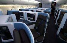ジャムコ、KLM787-10向けビジネスクラスシート初納入