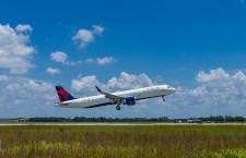 デルタ航空、50機目の米製A320ファミリー受領 A321に持続可能燃料