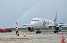 下地島空港、初の国際定期便 香港エクスプレス航空、週3往復