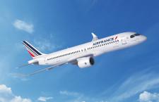 エールフランス、A220導入へ 最大120機、A318・A319置き換え