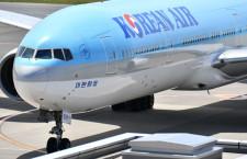 大韓航空、コロナ対策格付け5つ星 英SKYTRAX調査