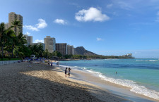 日本からハワイ渡航、6月は1859人 平均滞在17.8日