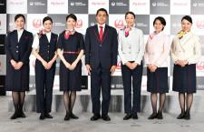 ワンピース初採用の地上係員7代目 写真特集・JAL新制服(2)