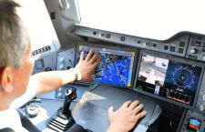 JAL、日本初の電子フライトログ A350、iPadで記録