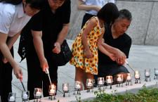 慰霊の園で追悼式 日航機事故34年、権藤常務「人間と自動化の関係、大きな課題」
