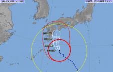 台風10号、14日は国内線114便欠航 宮崎発着は全便