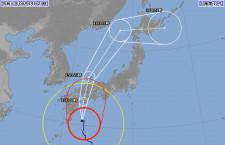 台風10号、15日は525便超が欠航 西日本や上海・台北中心に