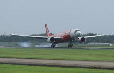 エアアジア、A330neo就航 初便は日本、タイ・エアアジアX成田へ