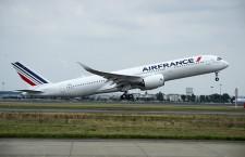 エールフランス、A350初飛行 初号機9月受領へ
