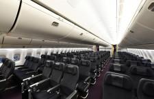 エコノミーはA350と同じグレー系 写真特集・JAL 777-300ER機内デザイン刷新(3)