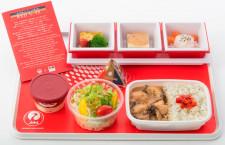 JAL、国際線機内食を刷新 若手有望シェフ新メニューや新ご当地丼
