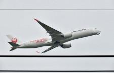 JAL、A350就航 植木会長「静かな機内、こだわりのシート」