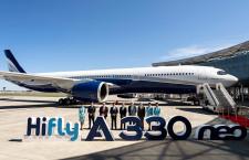 ハイフライ、A330neo初号機受領