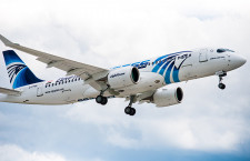 エジプト航空、A220-300初号機受領 6社目、北アフリカ初