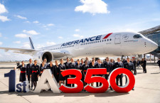 エールフランスKLM、A350-900を10機追加発注 38機に