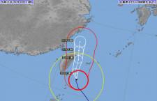 台風18号、沖縄離島中心に110便超欠航 台北便も影響