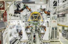 エアバス、A320の新胴体組立ライン稼働 ハンブルク元A380施設転用