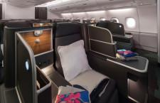 カンタス航空、A380新仕様機就航 ビジネスとプレエコ増席、ラウンジ拡充