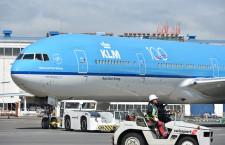 KLMオランダ航空、創立100周年 成田には特別デザイン777