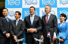 KLM創立100周年、500キロ以下は高速鉄道と連携 エルバース社長「前に進まないと消える」