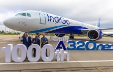 A320neoファミリー、納入1000機に到達 3年8カ月で