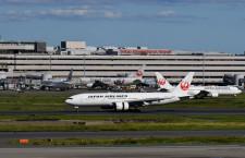 JAL、国内線57路線減便 1日2割減、19日まで
