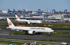 JAL、国際線全路線が運休対象 運航は15%に