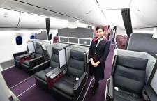 1便6席のファーストクラス 写真特集・JAL 787国内線仕様機(1)