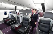 JAL、787初の国内線仕様公開 27日から羽田-伊丹線