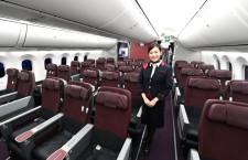 クラスJも個人用モニター・電源完備 写真特集・JAL 787国内線仕様機(2)