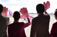 ピーチ、成田T3移転で拠点化 初便は元バニラ機、井上CEO「首都圏からアジア近くなる」