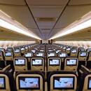 骨盤支えて疲れにくい全席画面・電源付きシート 写真特集・ANA国内線777新シート(普通席編)