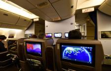 ANA、国内線新仕様777就航 2クラスとも画面と電源付新シート、羽田-福岡・伊丹・札幌線