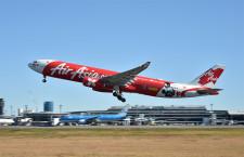 """エアアジアX、成田再就航 週4往復、初便には""""パッキャオ""""デザイン機"""