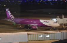 ピーチ、福岡の拠点化開始 国際線就航で夜間駐機