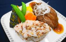 シンガポール航空、787-10福岡就航1周年で和牛ハンバーグ 九州食材使った機内食