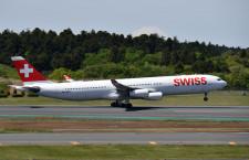スイス国際航空、6月から成田-チューリッヒ週2往復 777で