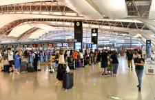 関空、中国便欠航85%に 週517便、24日から
